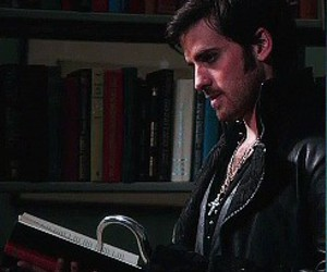 once upon a time, colin o'donoghue, and book image