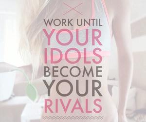fitness, idol, and motivation image