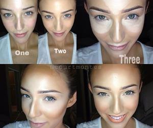 makeup and countouring image
