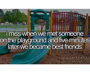 best friends, childhood, and fact image