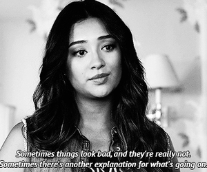 emily, wisdom, and pretty little liars image