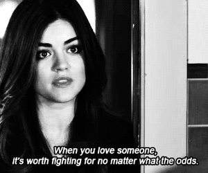 love, pretty little liars, and pll image