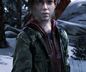 ellie, games, and the last of us image