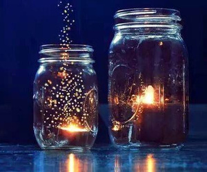 light, photography, and jar image