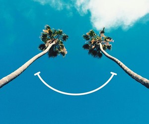 smile, summer, and happy image