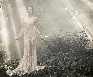beautiful, princess, and woods image