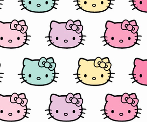 HelloKitty, iphone, and wallpaper image