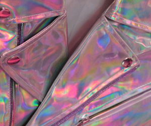 pink, grunge, and holographic image