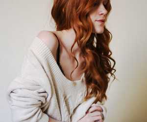 girl, redhead, and beautiful image