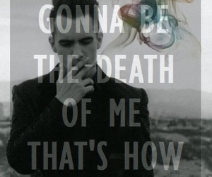 panic! at the disco, Lyrics, and brendon urie image