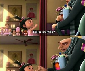despicable me, promise, and movie image