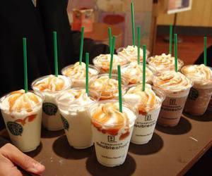 starbucks, coffee, and cream image