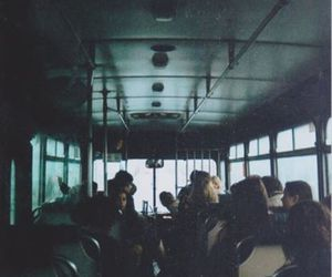 bus, grunge, and vintage image
