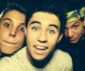 nash grier, magcon, and taylor caniff image