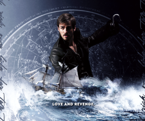 captain hook, once upon a time, and ouat image