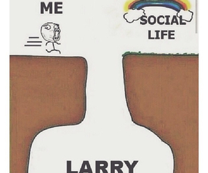 lol, truth, and larry image