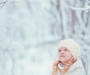 winter, girl, and cute image