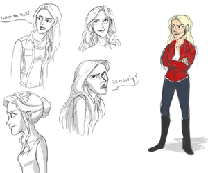 fanart, once upon a time, and emma swan image
