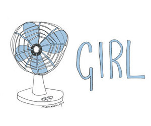 girl, fan, and fangirl image