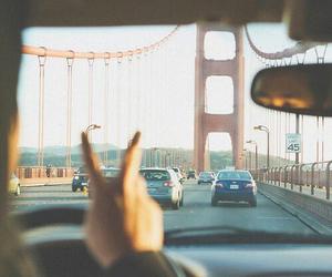 car, travel, and san francisco image
