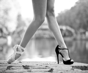 ballet, dance, and heels image