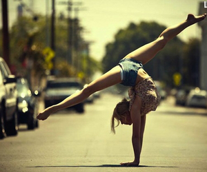 girl, dance, and street image