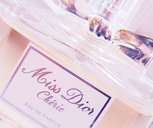 cherie, dior, and perfume image