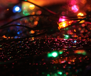 christmas, color, and lights image
