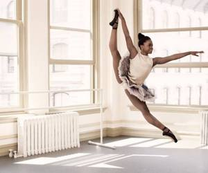 ballerina, ballet, and passion image