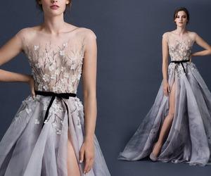 dress, model, and paolo sebastian image