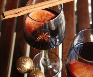 mulled wine, christmas drinks, and spiced drinks image
