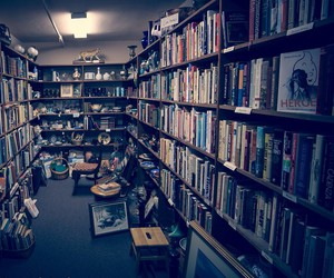 books, creativity, and library image