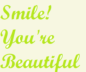 beautiful, happy, and smile image