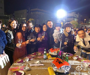 cheers, linda chung, and dinner image