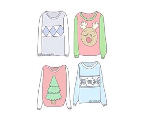 overlay, sweater, and christmas image