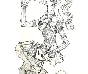 arkham, Arkham Asylum, and art image