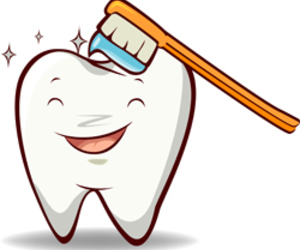 dentist, happy, and tooth brush image