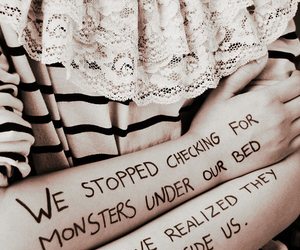 clothes, fashion, and monster image