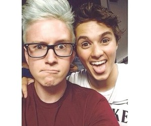 the vamps and tyler oakley image
