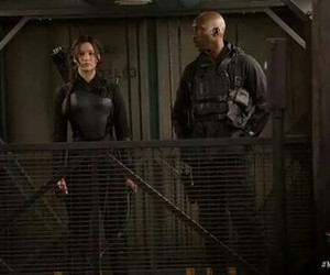 katniss and the hunger game image