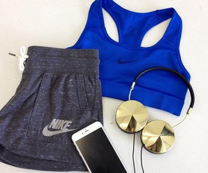 nike, fitness, and iphone image