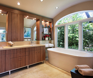 luxury, bathroom, and house image