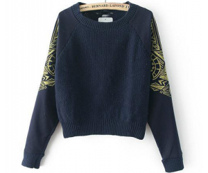 stylish sweater, unique ladies sweater, and women's winter clothes image