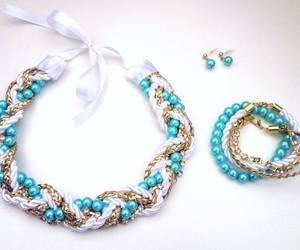 earrings, jewelry, and summer2014 image