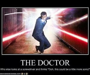 david tennant, doctor who, and sonic image