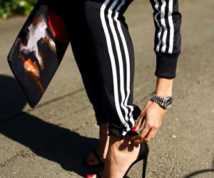 adidas, fashion, and heels image