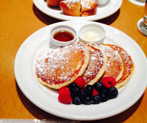 blueberry, breakfast, and delicious image