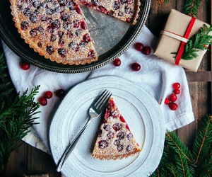 christmas, cranberry, and delicious image