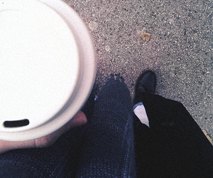 coffee, fashion, and hipster image