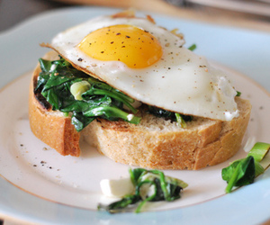 food, egg, and healthy image
